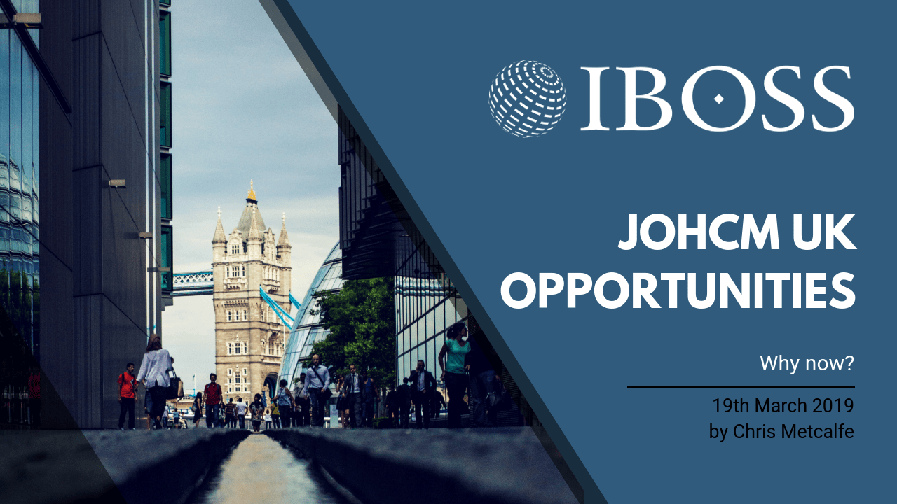 Why Now for JOHCM UK Opportunities