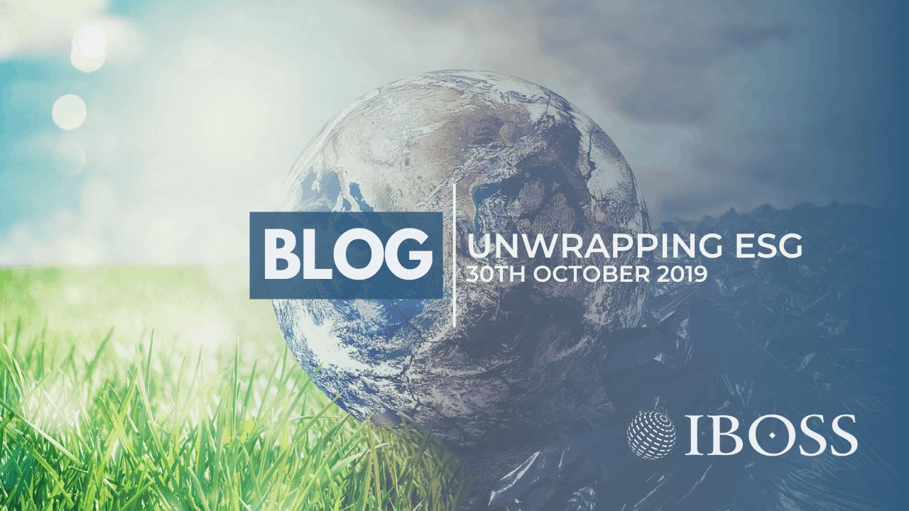 Unwrapping ESG