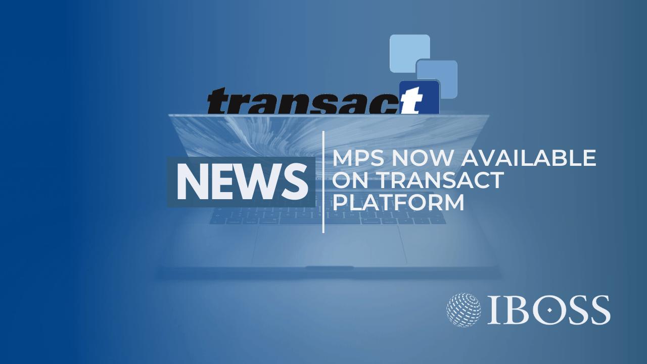 IBOSS Tansact Platform