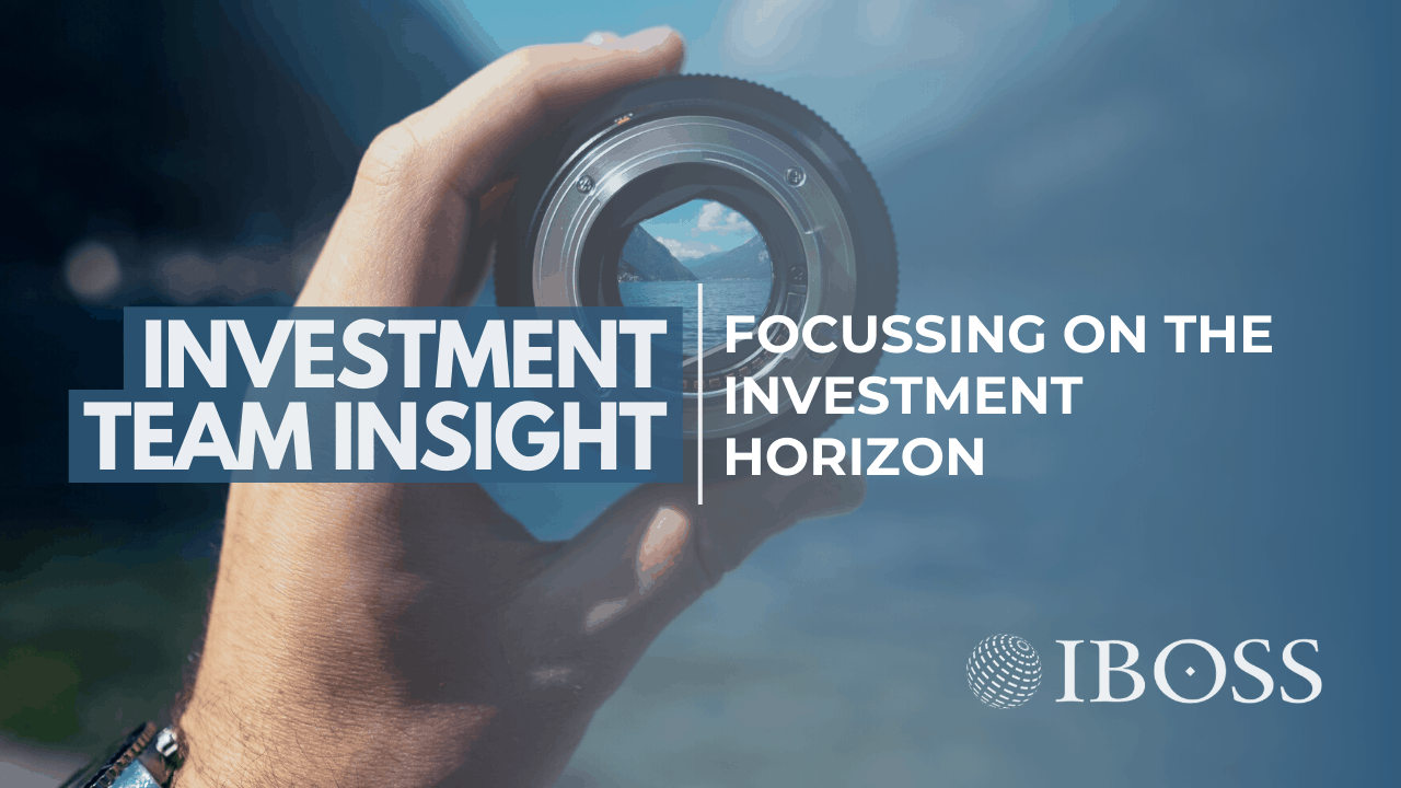 Focussing on the Investment Horizon