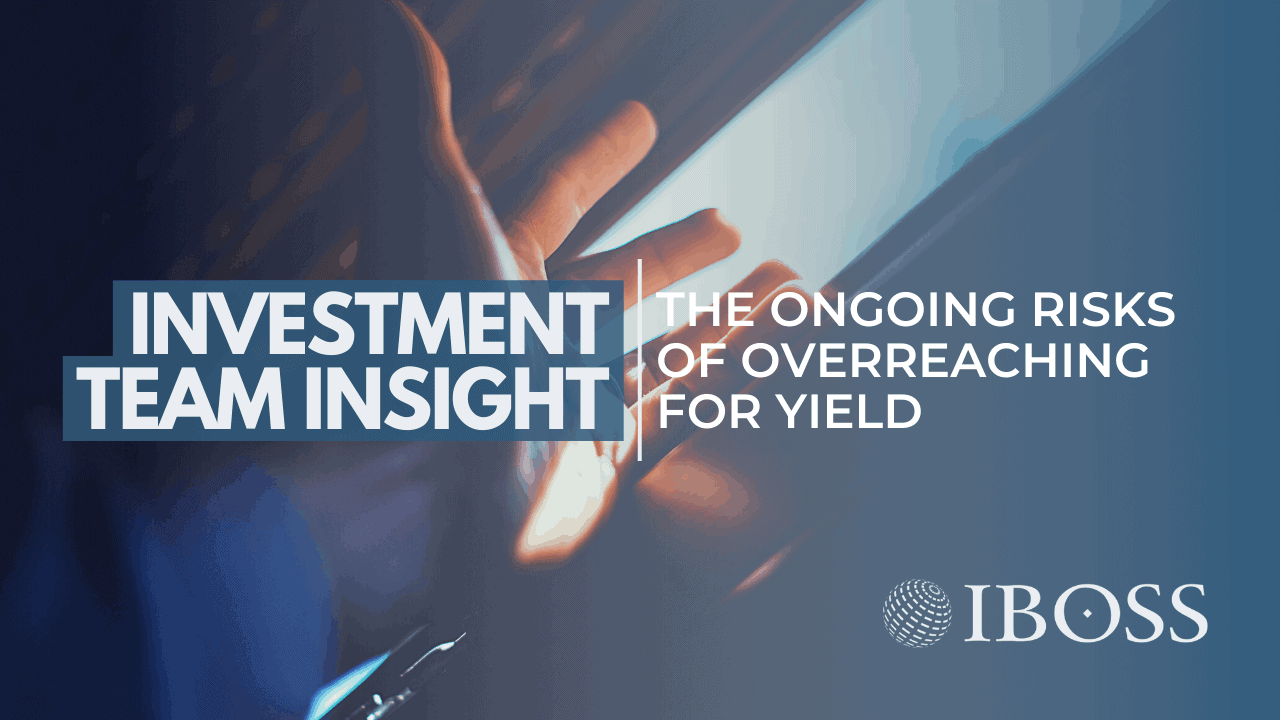 Overreaching for yield