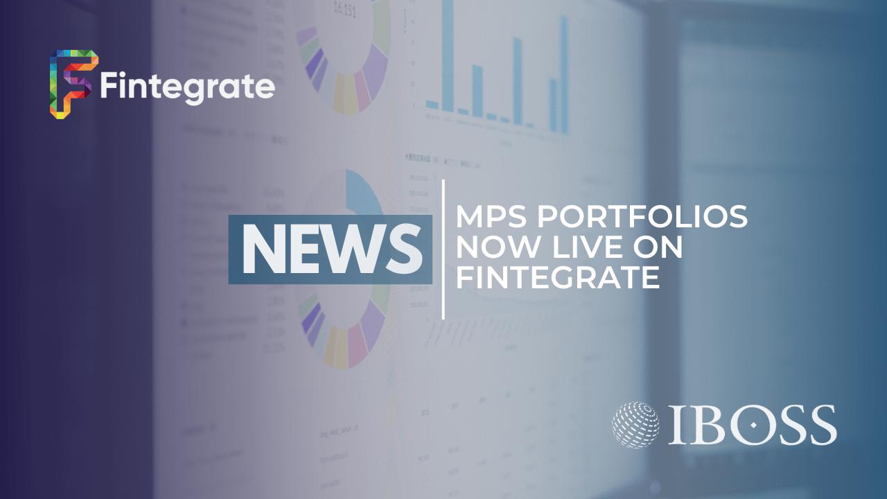 IBOSS MPS Portfolios on Fintegrate
